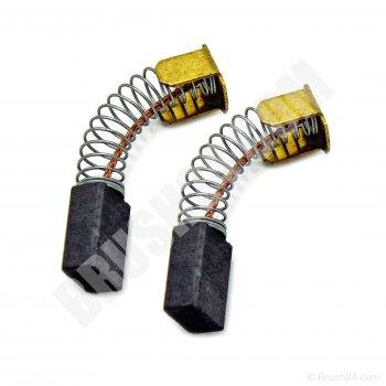 2x Charbon bbürsten 6,5 x 13,5 x 17 mm Pour Makita hr6000k ls1011 lh1040f lh1040